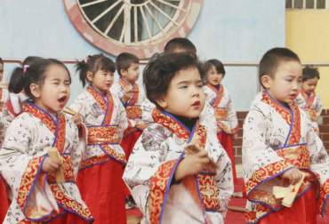 uyghur kids without parents in the orphonage being forced to Han chines (1)